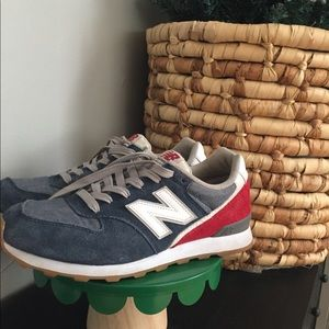 Red, White and Blue New Balance sneakers sz7.5